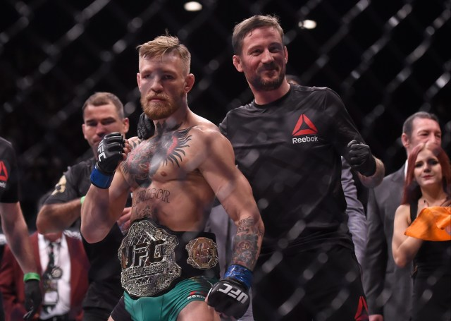 Kavanagh says watching McGregor train at welterweight has given him 'joy'