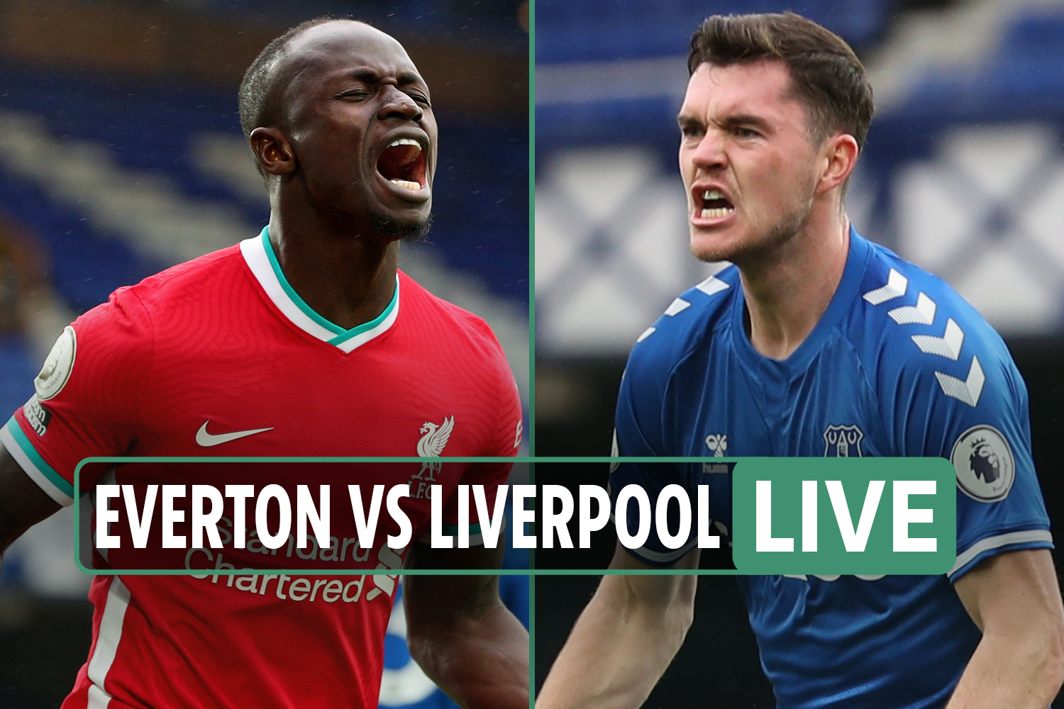 Everton vs Liverpool LIVE: Stream FREE, TV channel, score as Keane heads in equaliser at Goodison thriller