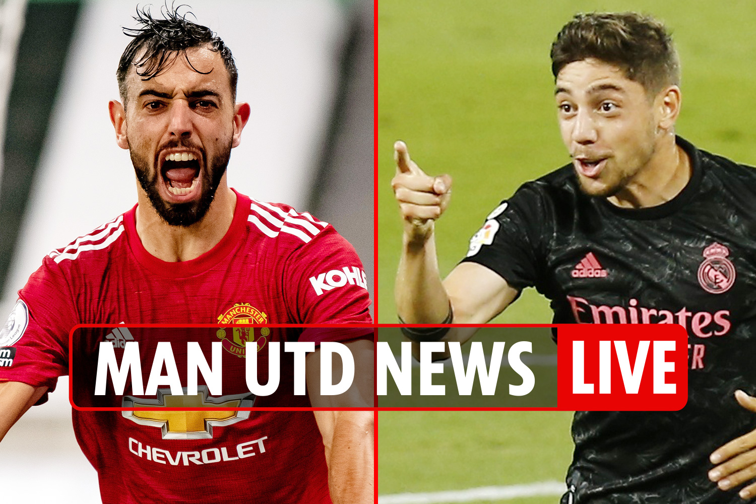 6pm Man Utd news LIVE: Mbappe WARNING, Federico Valverde EXCLUSIVE, Bruno Fernandes target for Real Madrid and Barca