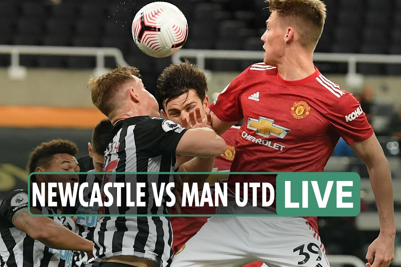 Newcastle vs Man Utd LIVE REACTION: Bruno Fernandes makes up for penalty miss as Utd run riot