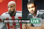 Sheffield United vs Fulham LIVE: Stream, TV channel, score – Mitrovic BLAZES penalty over the crossbar