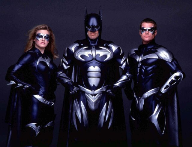 George Clooney starred in flop Batman & Robin with Alicia Silverstone and Chris O'Donnell