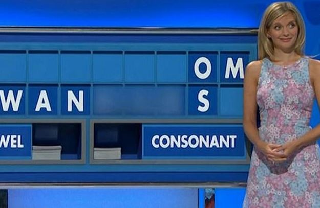 """Countdown was forced to blur out the word """"w***ers"""" after it appeared on the board"""