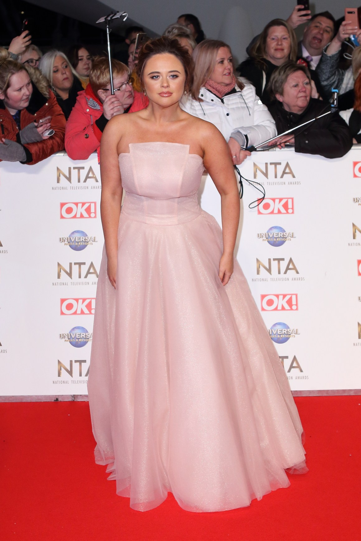 Emily Atack says she wants audience to experience her comedy as a 'sense of escapism'