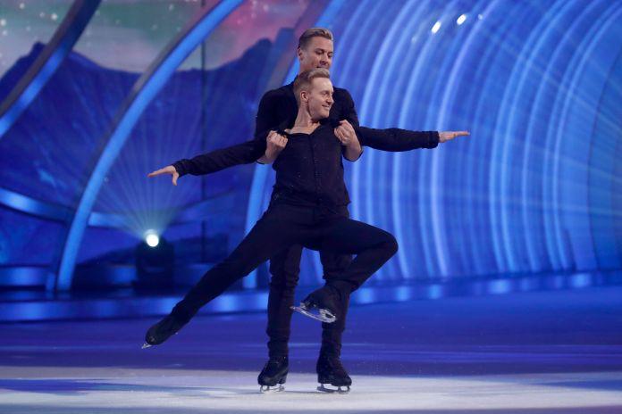 Matt and Steps frontman Ian 'H' Watkins was ITV's first gay partnership this year