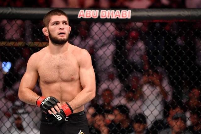 Khabib has been training with Umar ahead of UFC 254