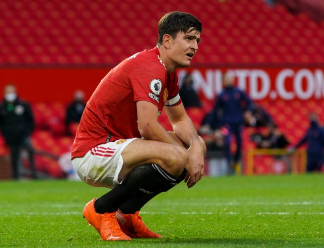 Maguire could miss United's game against Newcastle