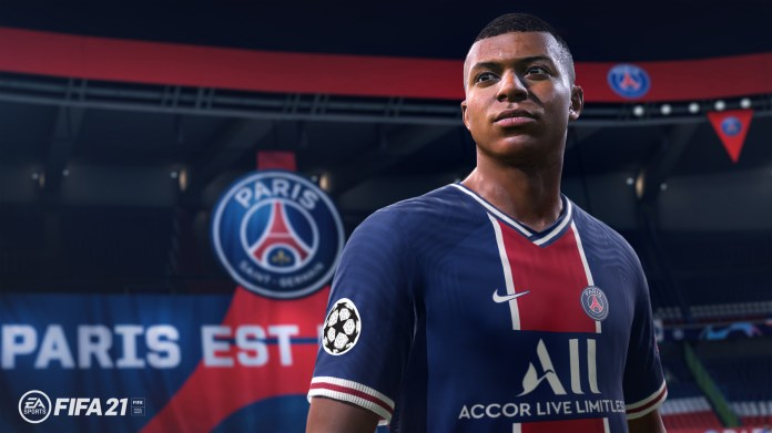 Kylian Mbappe is the cover star for FIFA 21 - which will be fully released on October 9