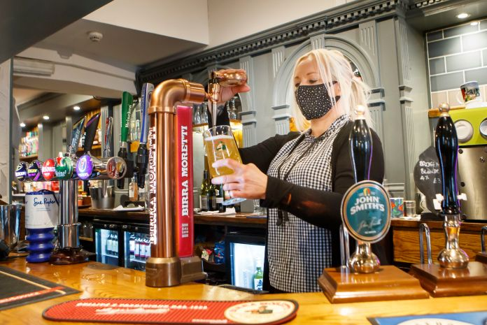 Pubs and restaurants are expected to close from tongiht, but they will be allowed to deliver and take out
