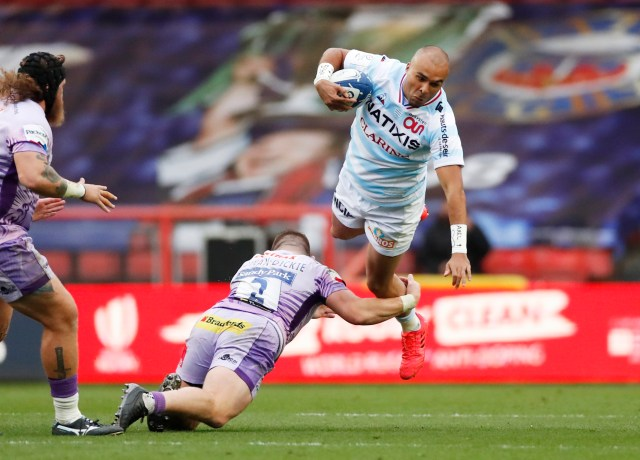 Simon Zebo bagged a brace of tries in the final