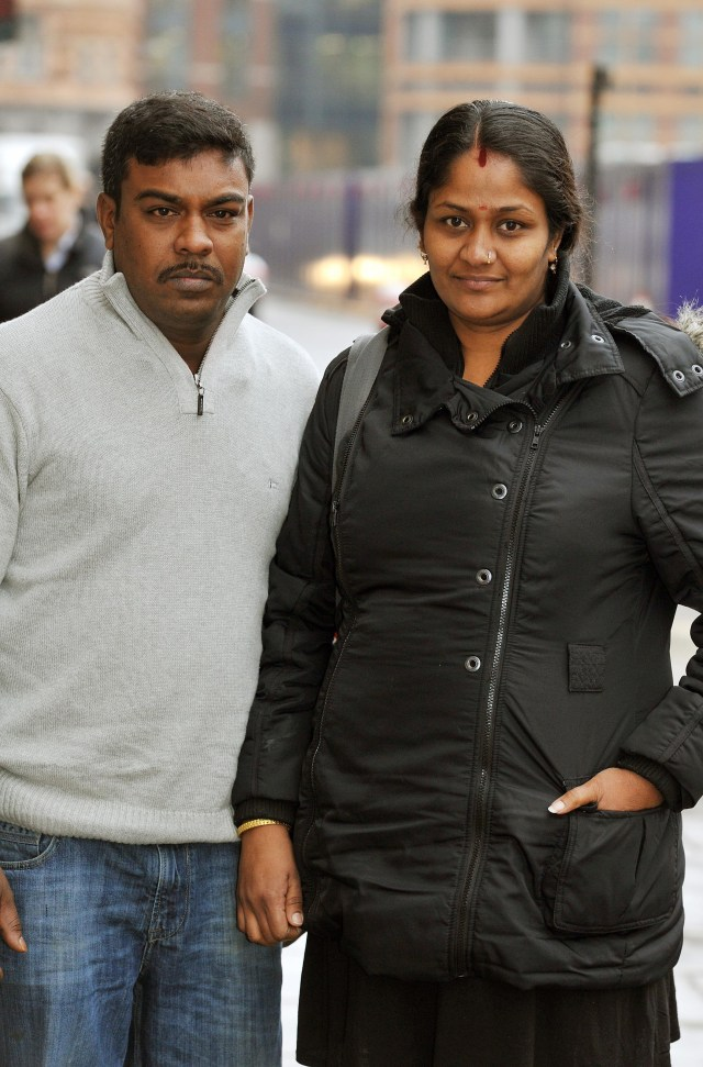 Thusha's parents had been threatened with fines if they didn't send her back to the classroom