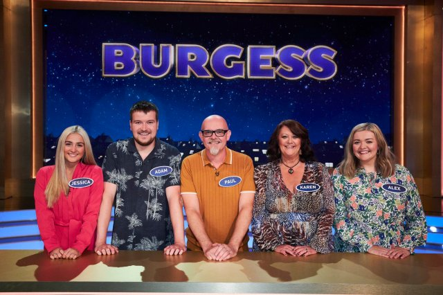 The Burgess family hit the jackpot on the ITV gameshow