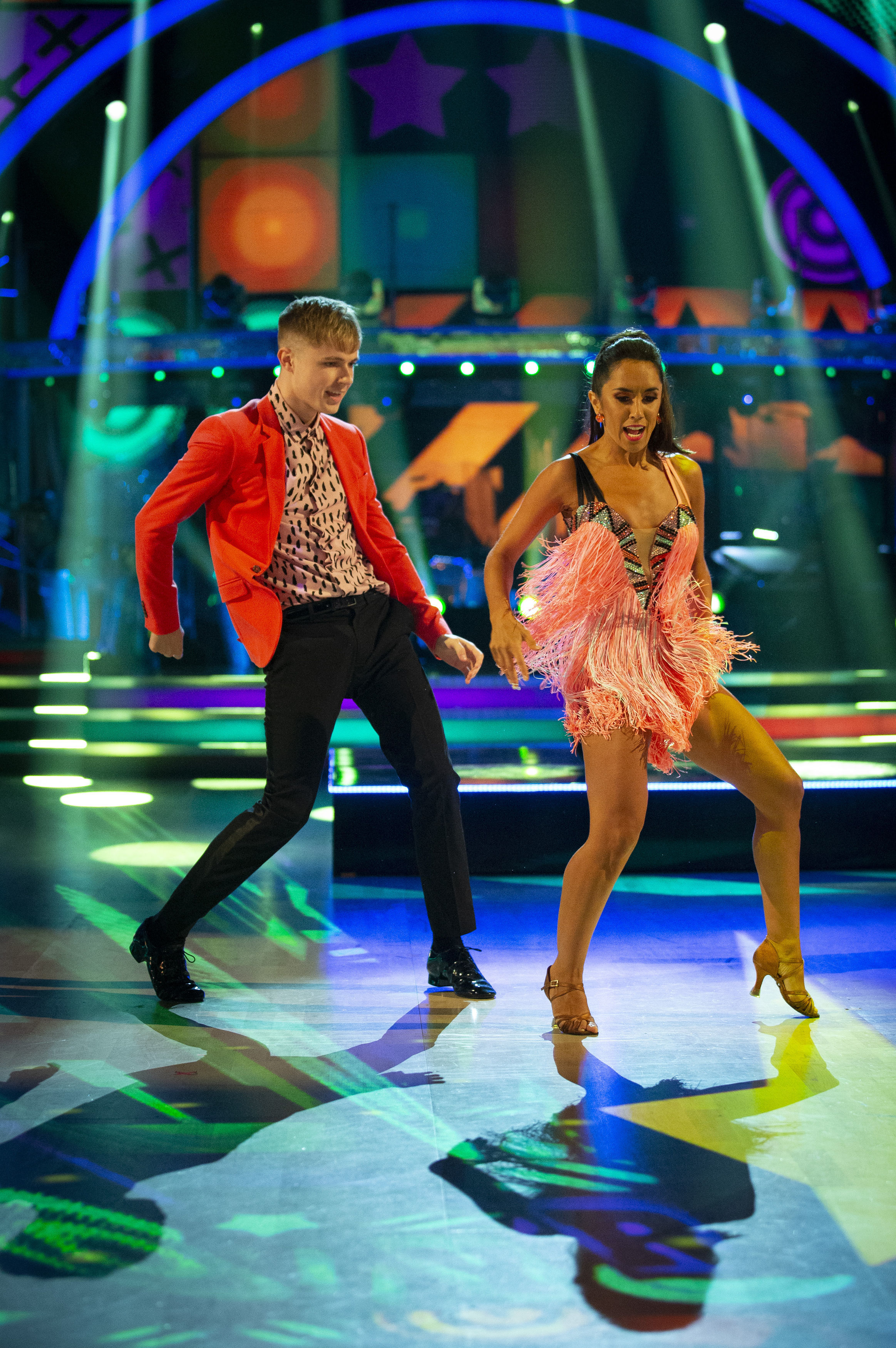 HRVY also impressed the judges with his moves