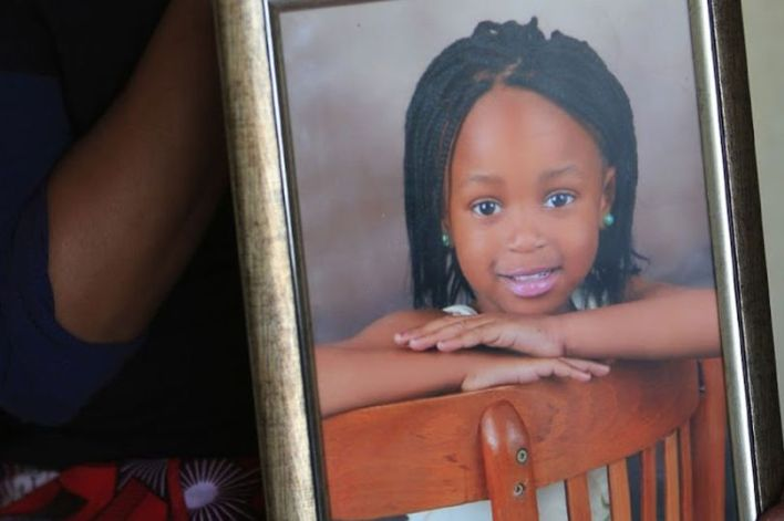 Little Inathi was just six-years-old