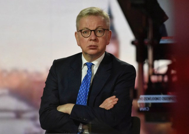 Speaking on the Andrew Marr show, Michael Gove said the door is 'ajar' on Brexit trade talks