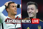 11pm Arsenal news LIVE: Ronaldo 'nearly joined Gunners', Ozil £8m loyalty bonus, Chelsea wanted Partey transfer