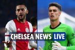 1pm Chelsea news LIVE: Ziyech set for debut, Mendy OUT so Kepa could start, Jorginho deal, Donnarumma linked