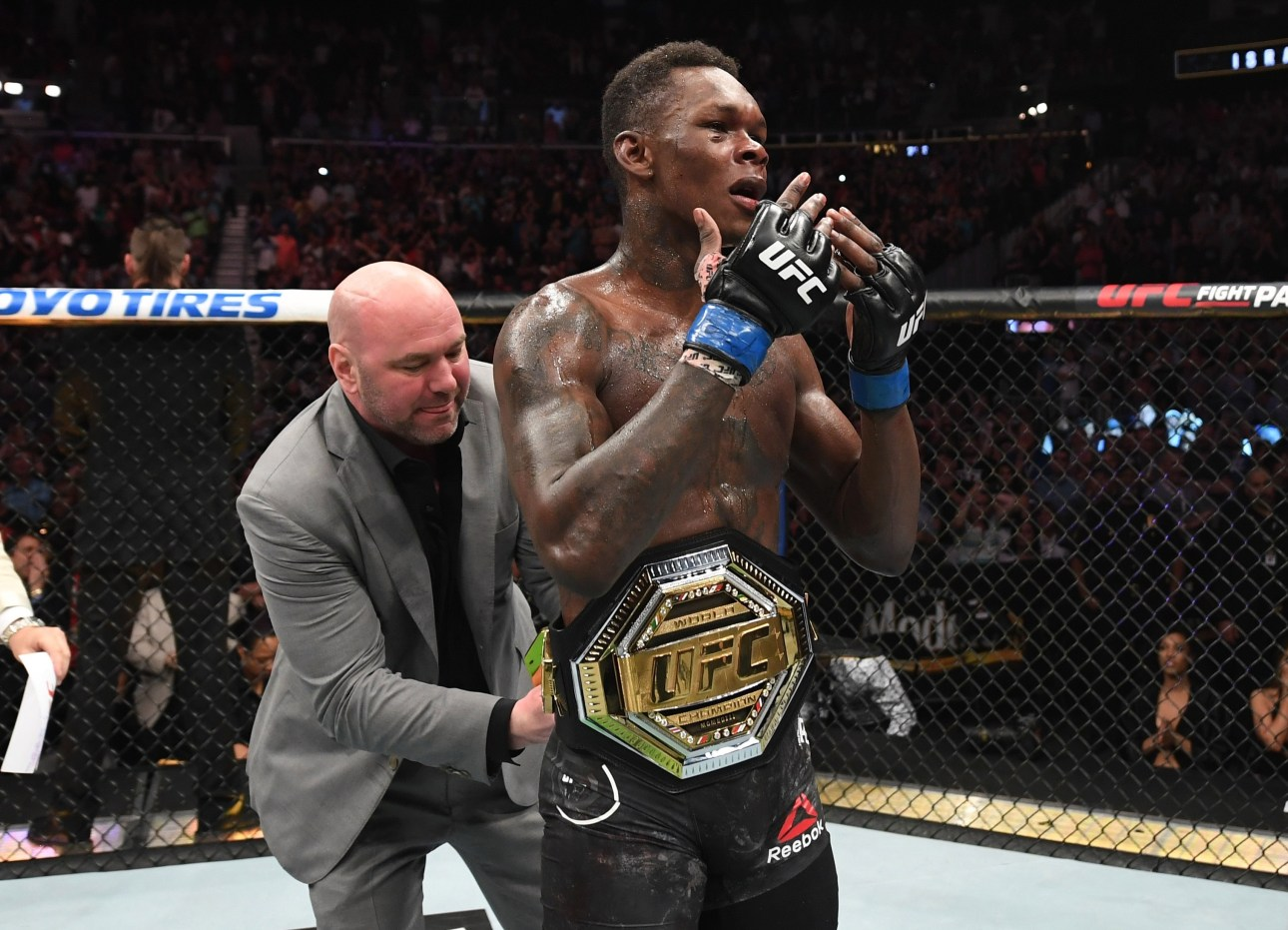 Dana White refutes opinion that Israel Adesanya cleaned out middleweight before UFC 263