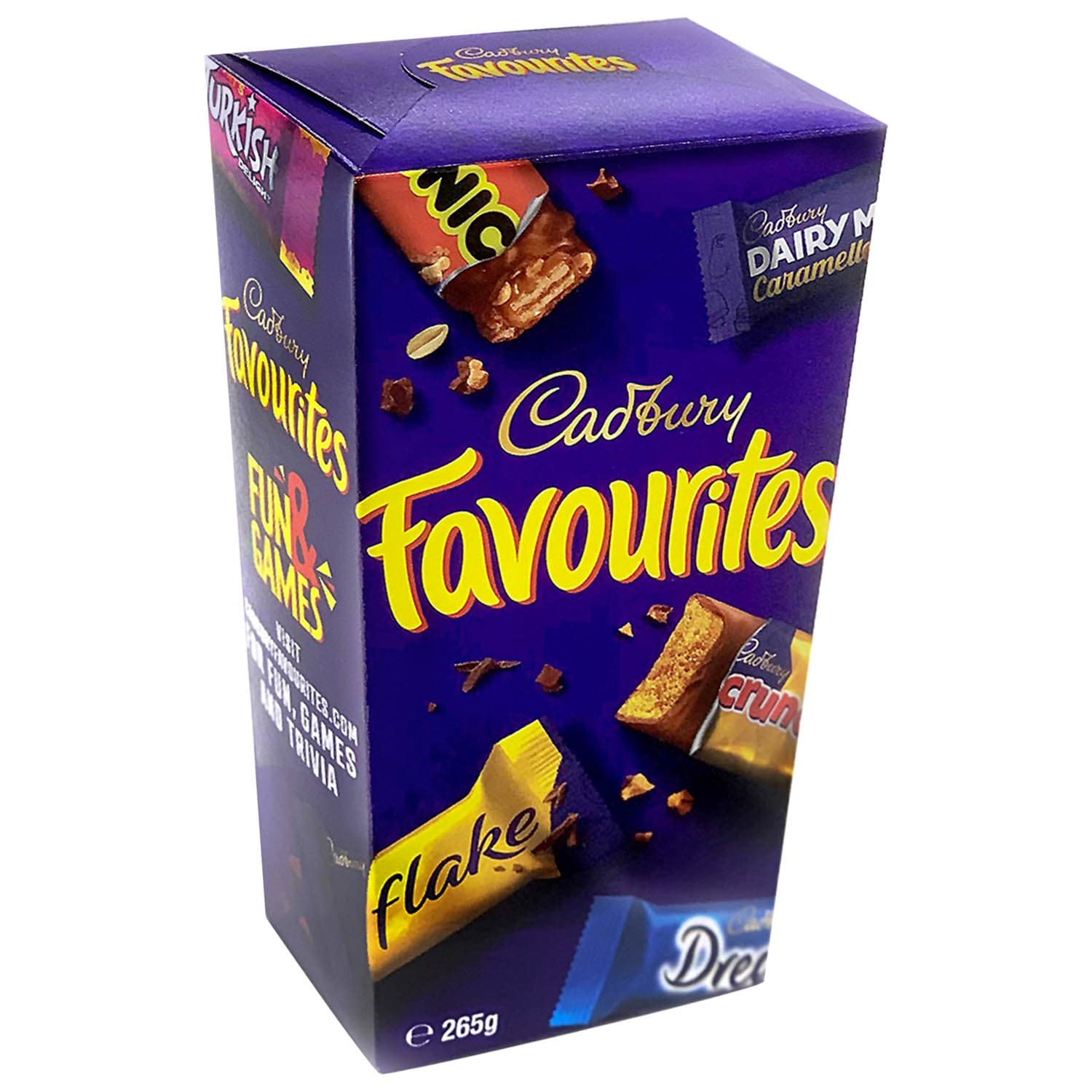 B&M is selling Cadbury Favourites boxes with Dream and Picnic bars inside