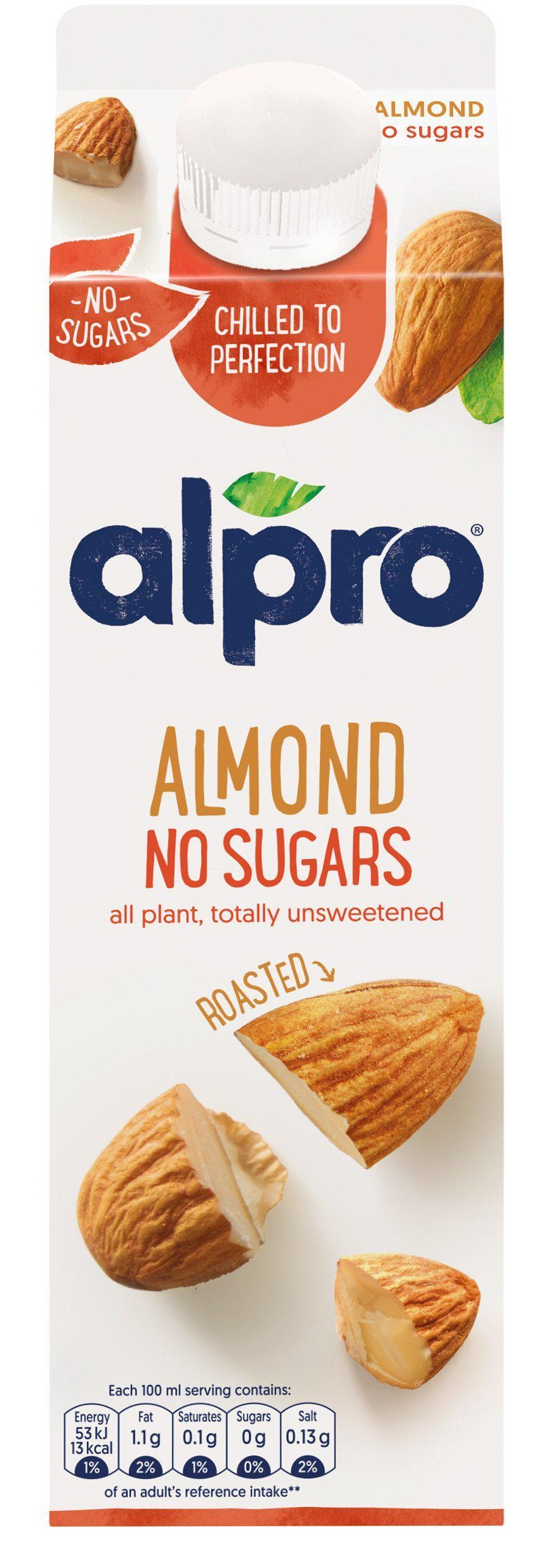 A litre of Alpro Almond Chilled Drink is on offer for £1 at Sainsbury's