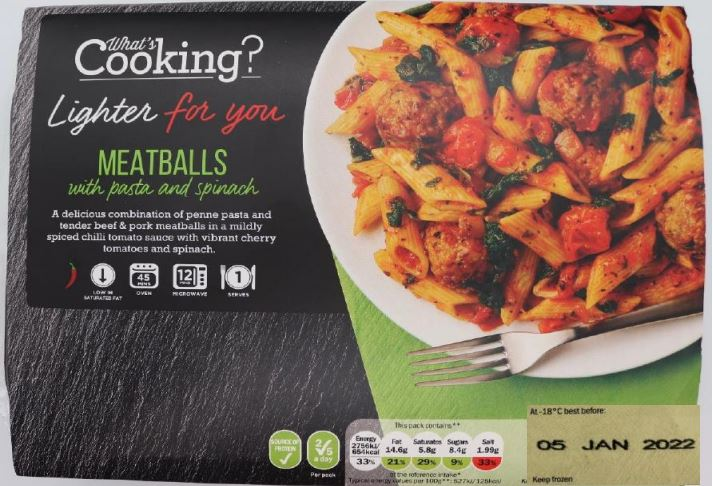 Meatballs from Lidl could contain milk