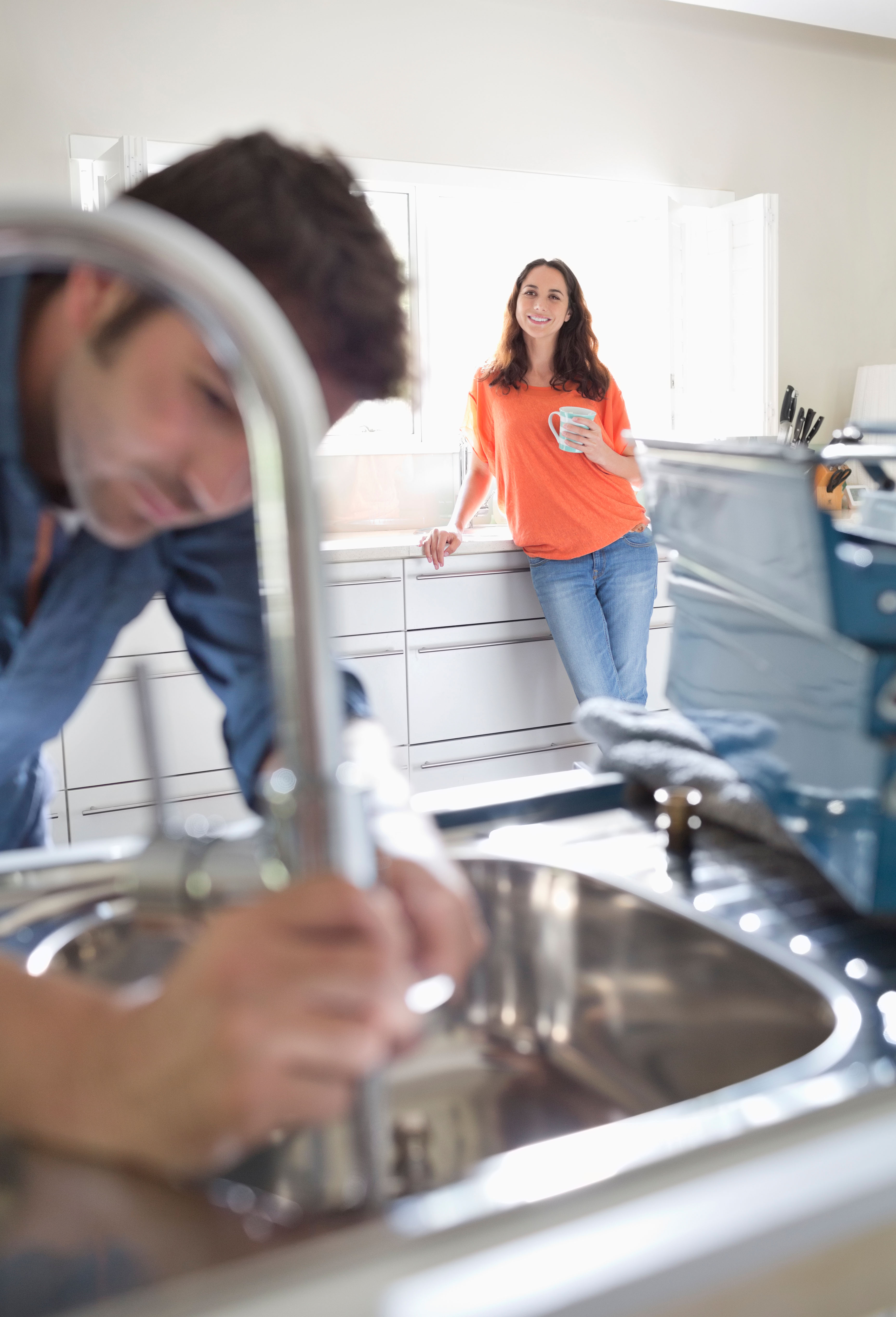 A reader was caught out by a work-shy plumber