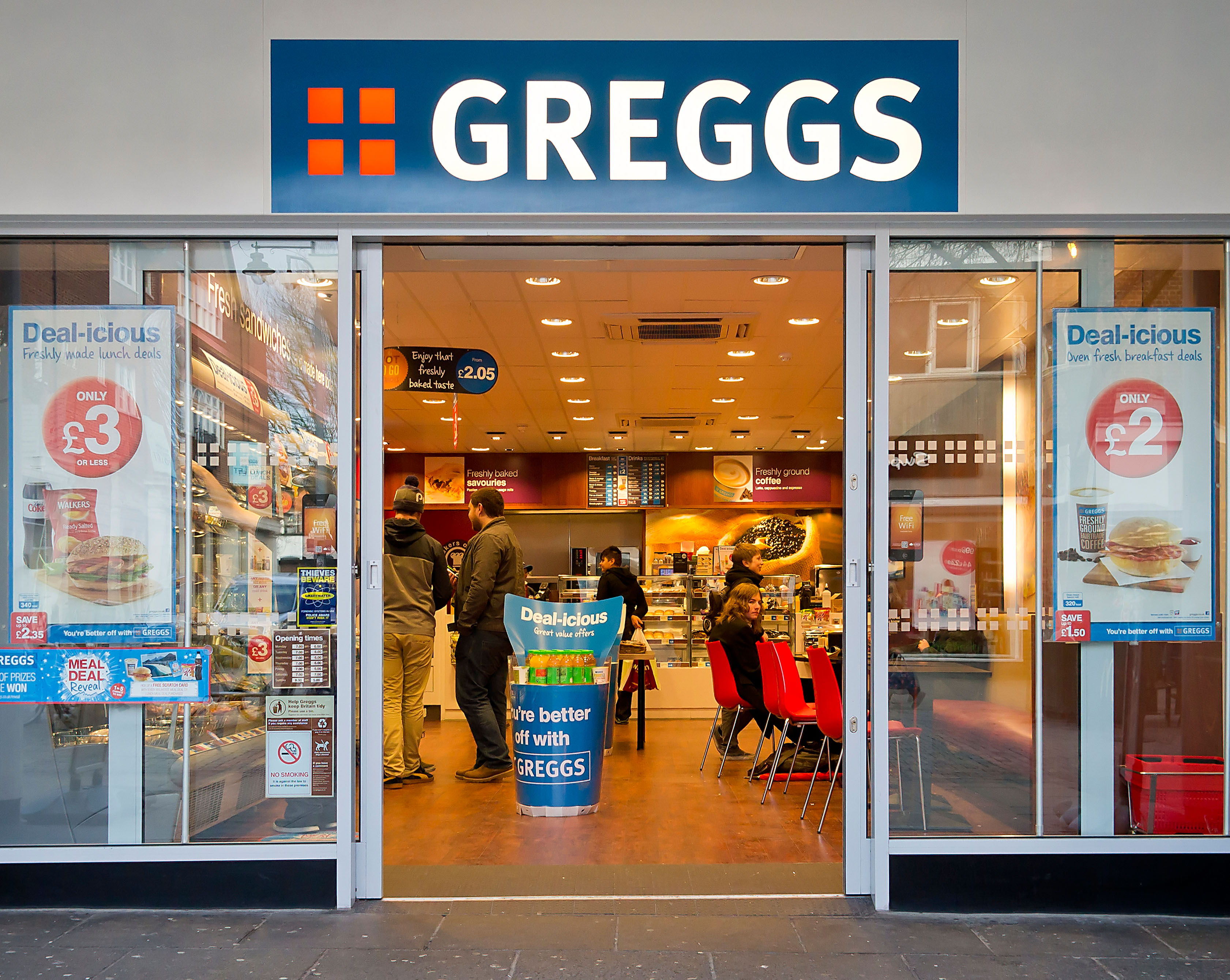 Some Greggs staff have accepted working fewer hours