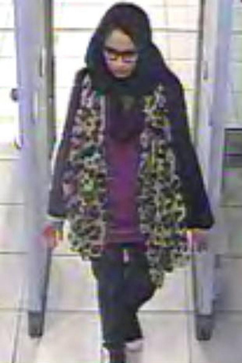 Begum huyó a Siria cuando era una colegiala de 15 años