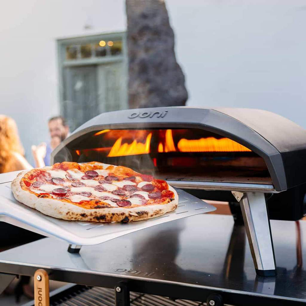 Pizza ovens are rising in popularity because homeowners want to maximise outdoor space