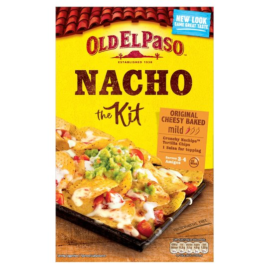 There's no need to spend £3.20 on the Old El Paso Original Nacho Kit at Tesco...