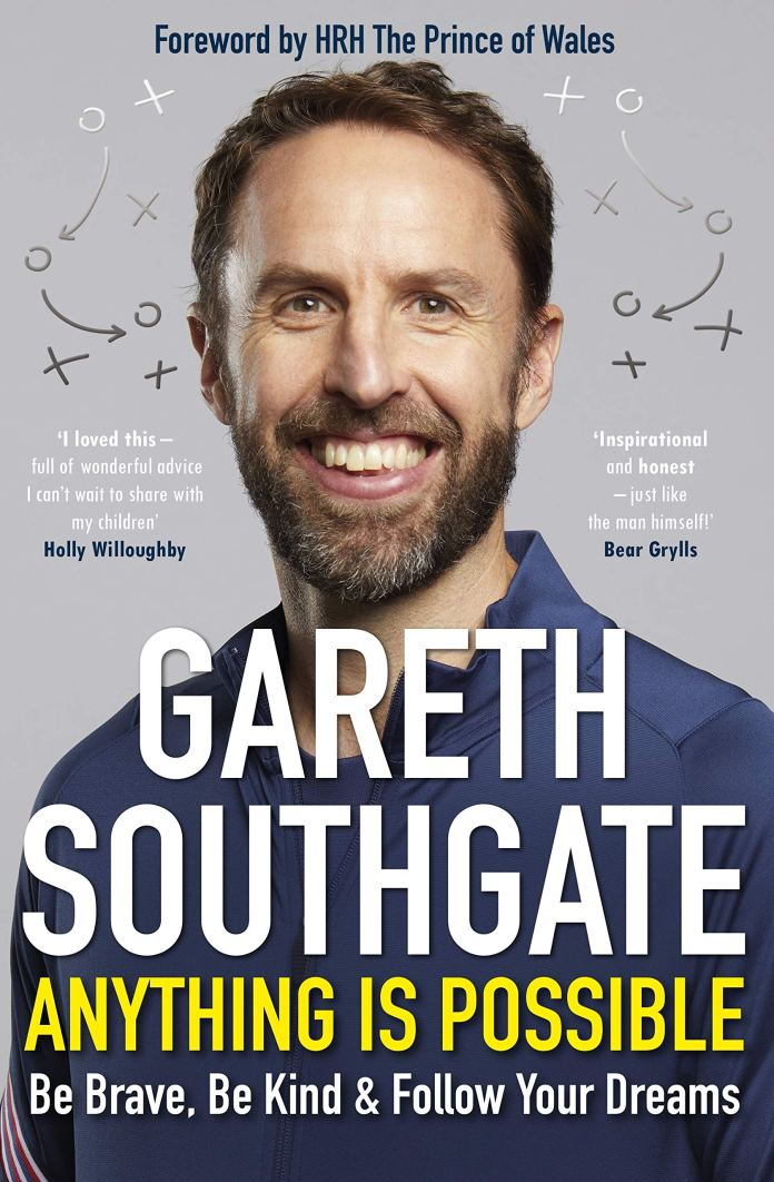 Southgate has opened up about his rise to the top in his new book