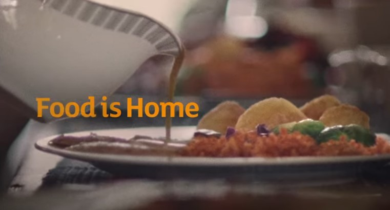 All three of the Sainsbury's ads finish with the same caption