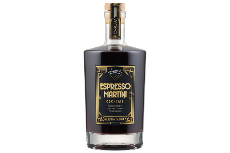 Lidl'd pre-mixed espresso martini is budget friendly