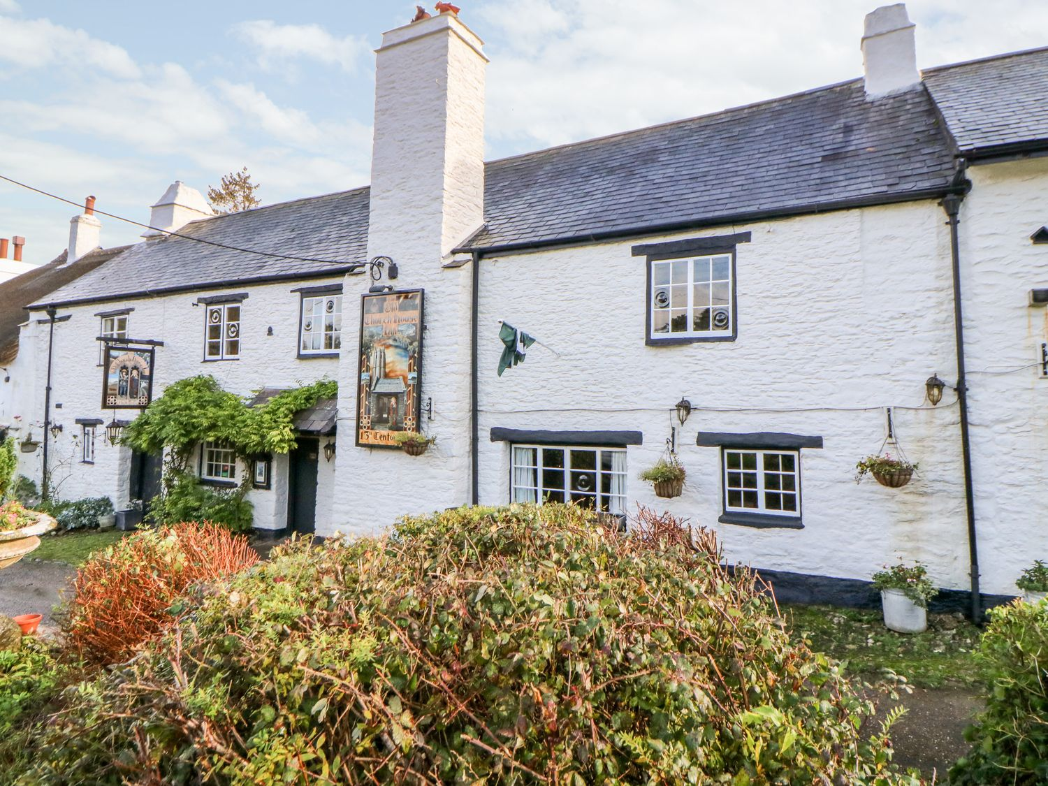 This Devon holiday home even looks like a rustic pub still