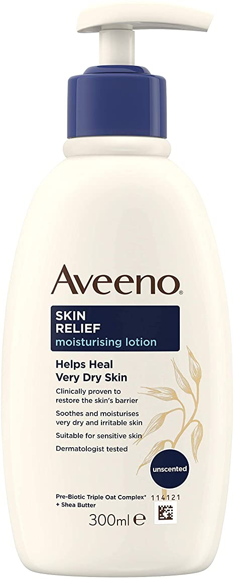 Take care of your skin this winter with Aveeno Skin Relief and save £2