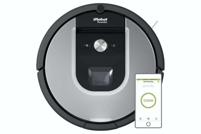 The iRobot Roomba 965 robotic vacuum cleaner is almost half the price