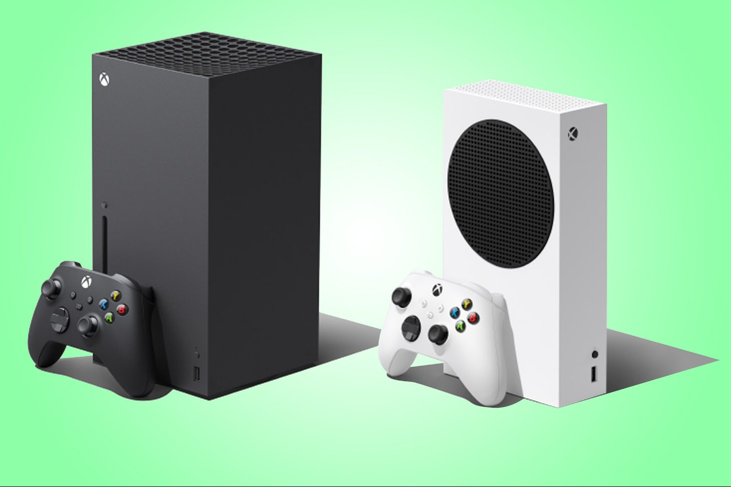 Desperate shoppers will this week get the chance to bag themselves an Xbox Series X (left) or Xbox Series S