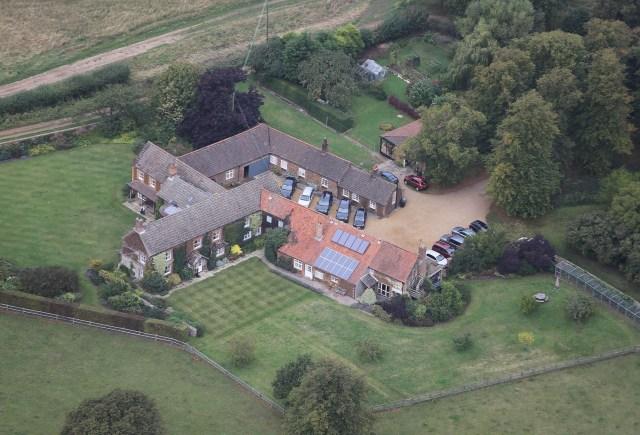 Wood Farm is the couple's chosen 'retirement' home