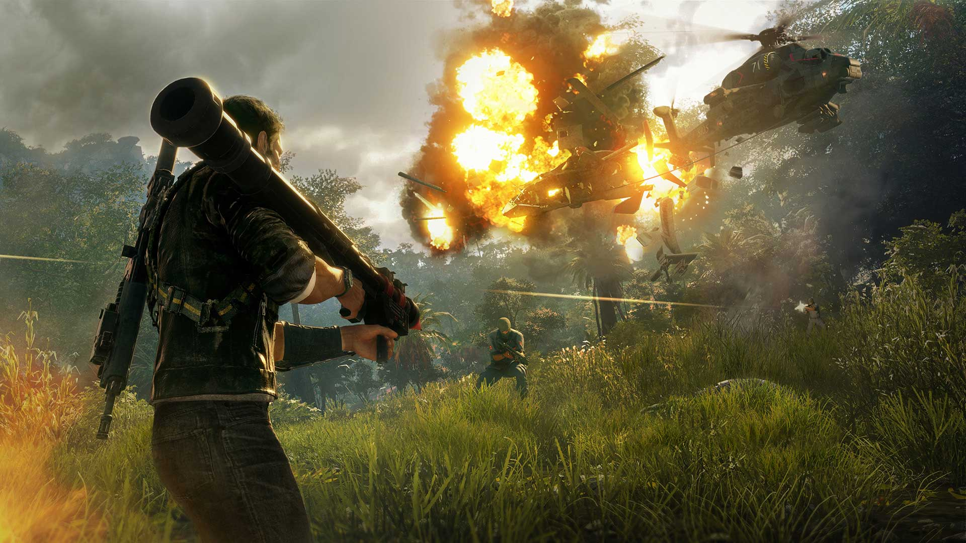 You can get the visually impressive Just Cause 4 for free this month