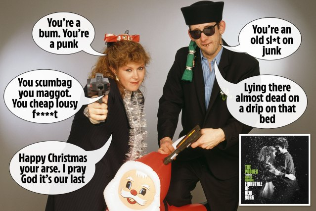 BBC bosses edit lyrics of Pogues' Christmas hit Fairytale of New York to  avoid offence