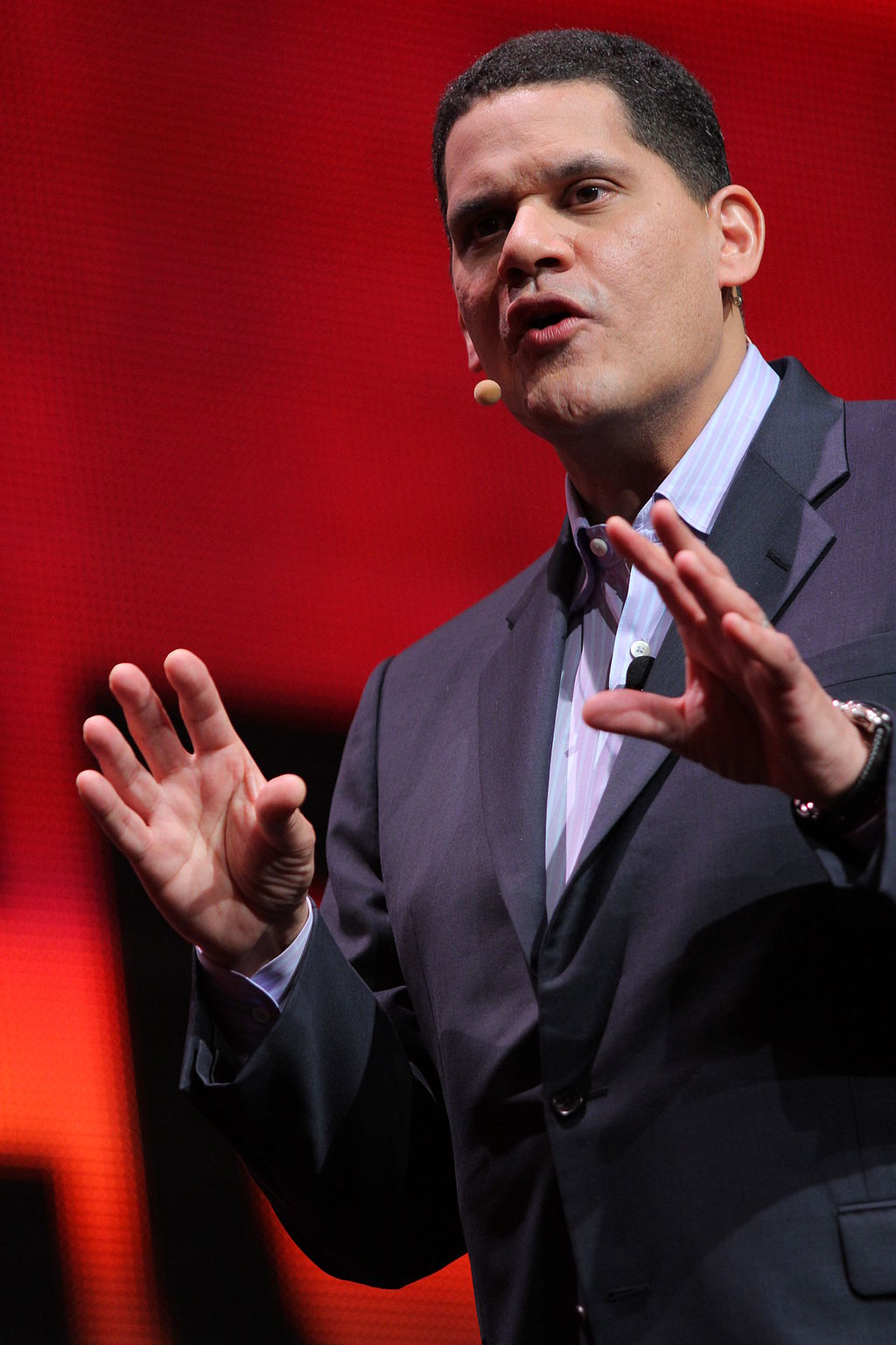Former Nintendo US head Reggie Fils-Aime is one of the biggest names in gaming