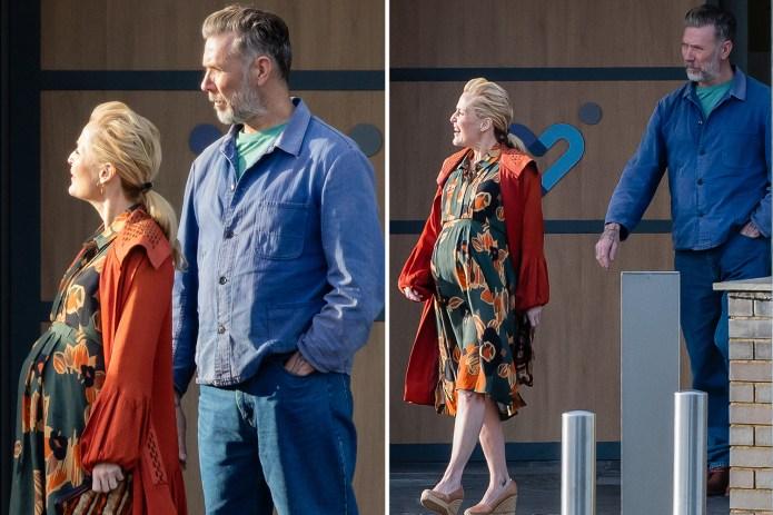 Sex Education's Gillian Anderson cradles baby bump on Netflix series –  confirming major season 3 spoiler