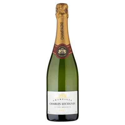 For something a little fancier, head to Waitrose and pick up Charles Lecouvey champagne, down to £17.99