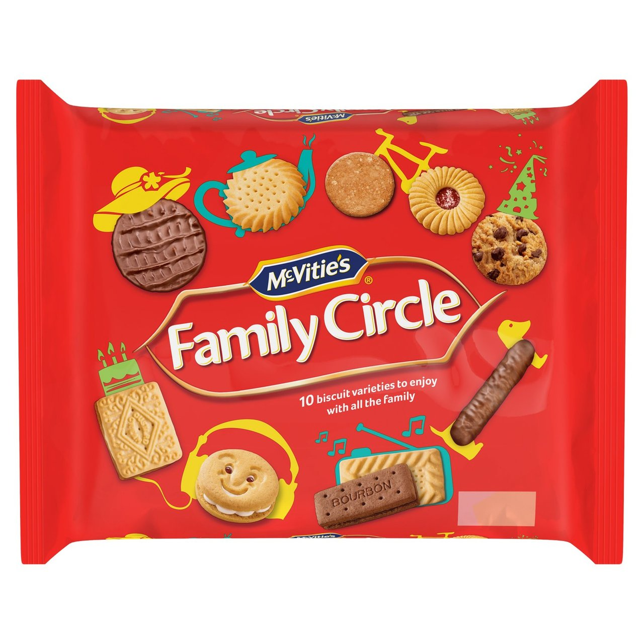 A 310g pack of McVities Family Circle biscuits will set you back £3 on Ocado