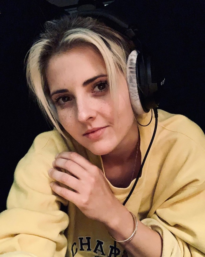 Emily Burns began writing songs as a receptionist at Abbey Road studios