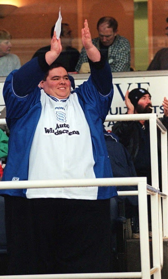 Birmingham City fans have paid tribute to the lifelong Blues supporter