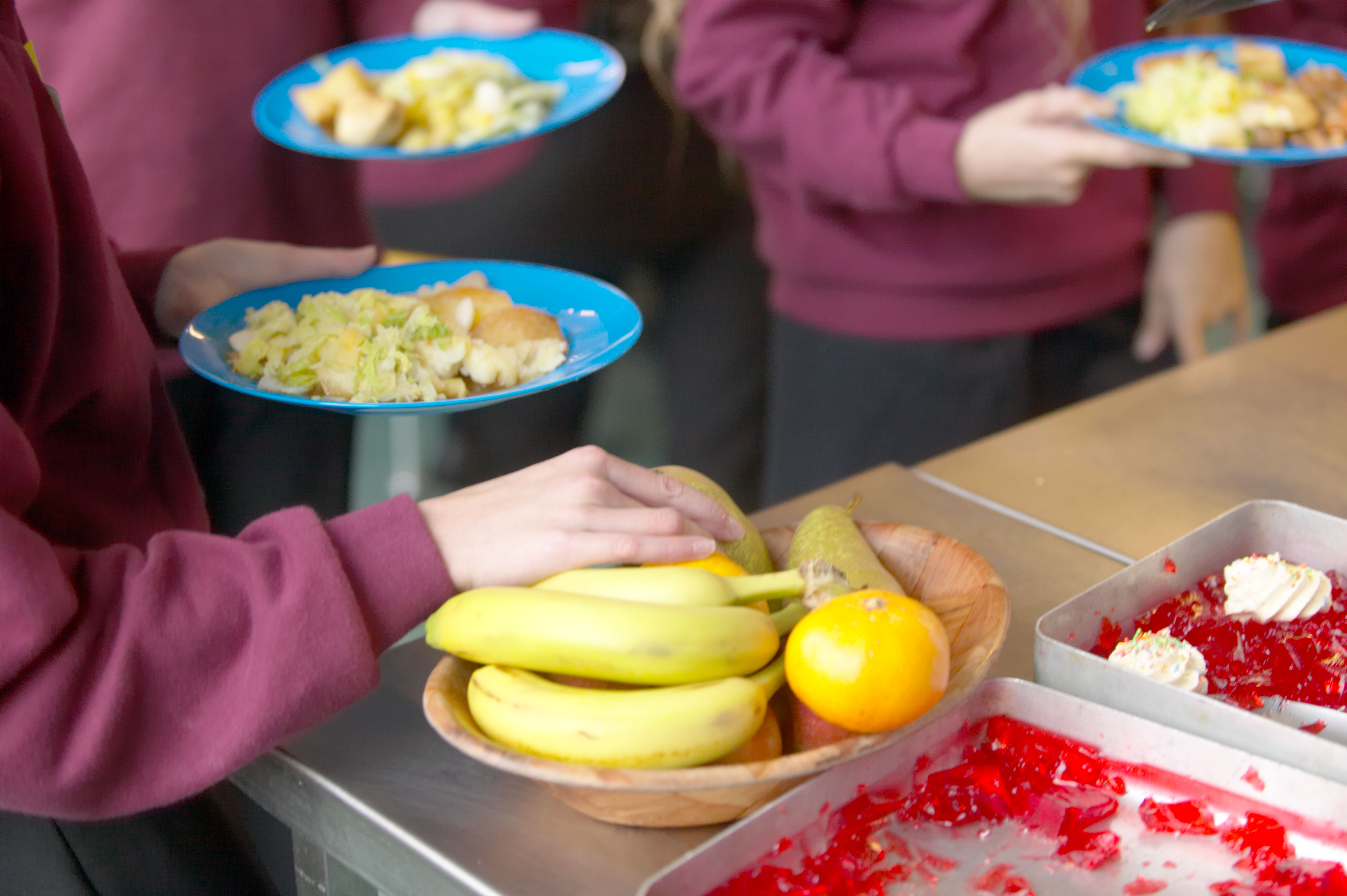 Struggling families are getting food parcels instead of free school meals for their kids during the national lockdown