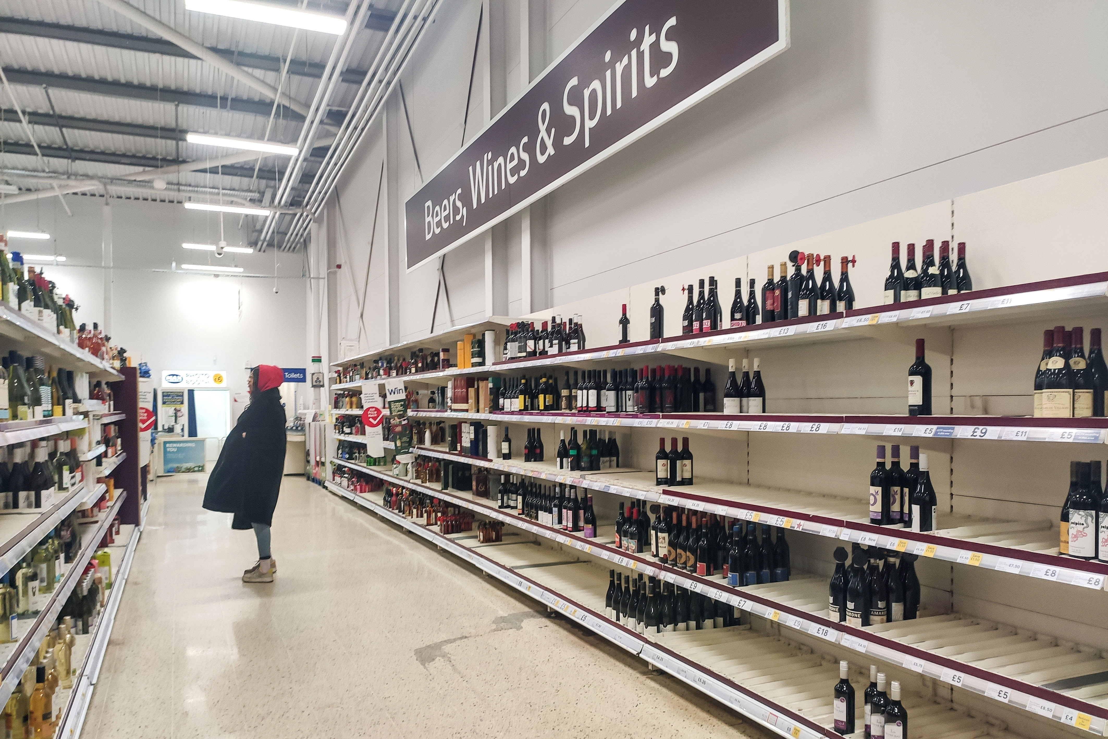 Brits have turned to booze and rejected Dry January with alcohol sales rocketing in the first weeks of January