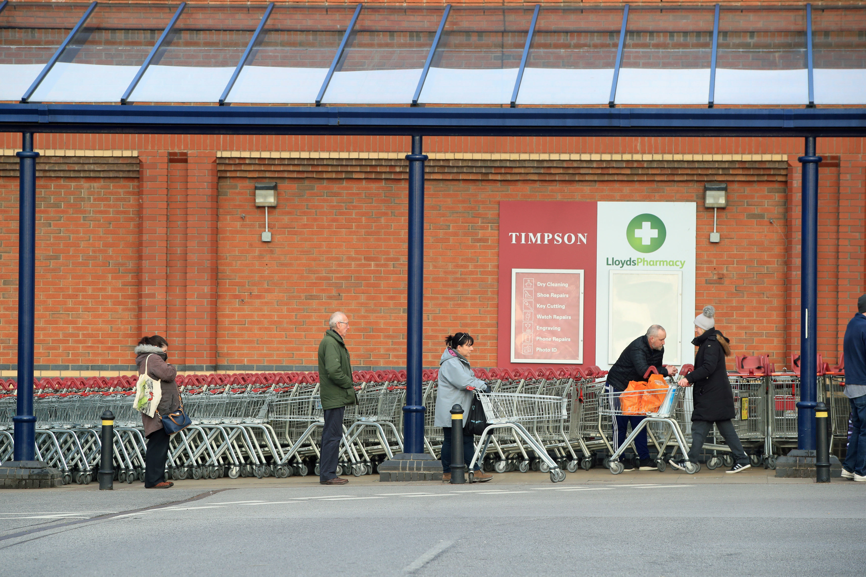 Ministers told councils earlier this week to place limits on the number of people allowed into shops