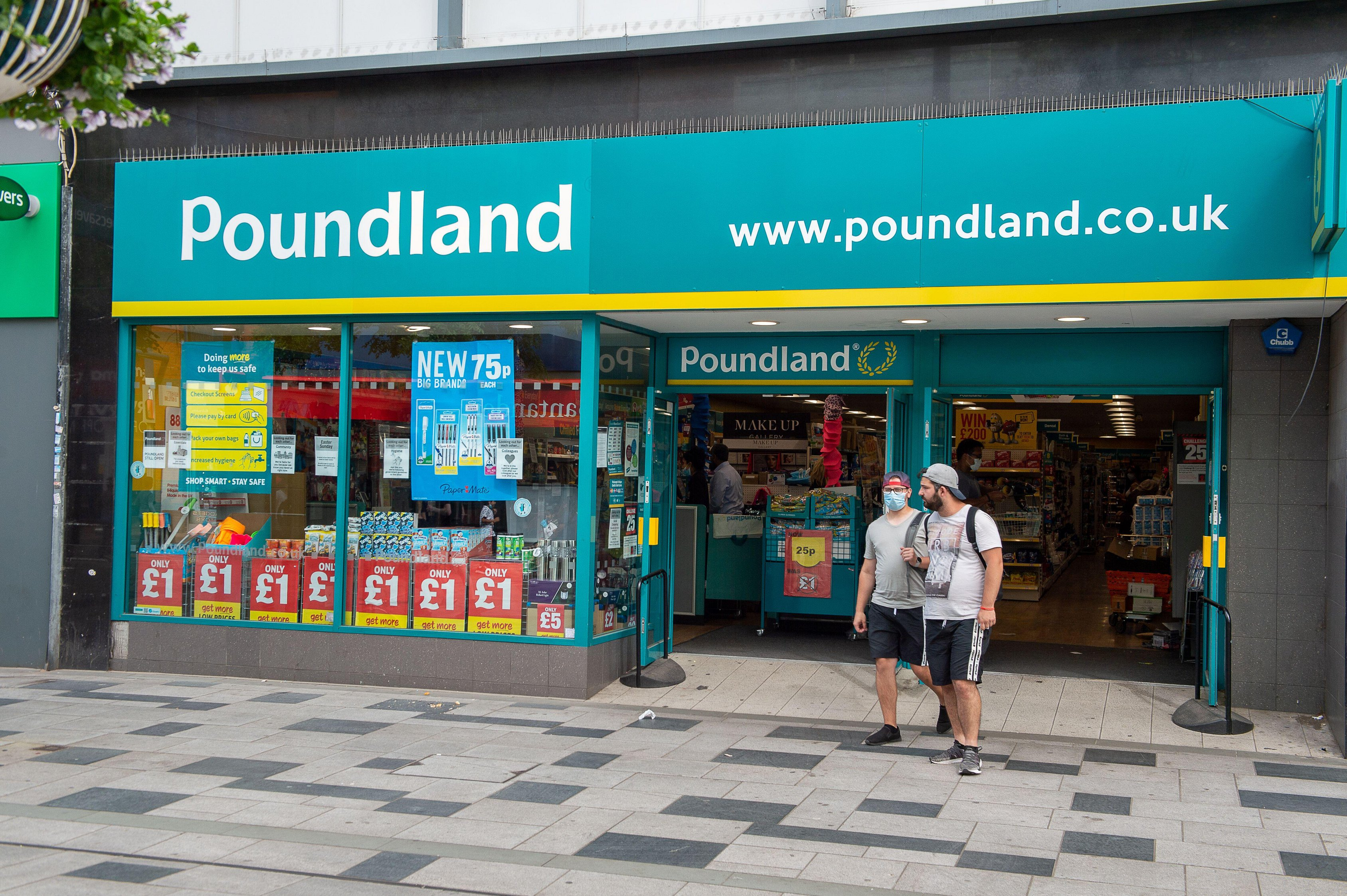 Most of Poundland's stores will be remaining open through lockdown
